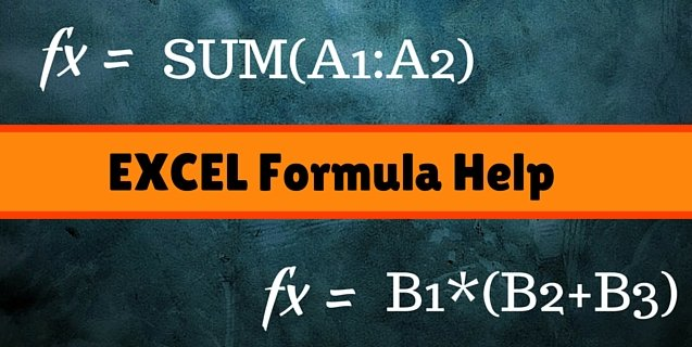 training on creating formulas for microsoft excel onlc