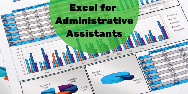 Microsoft Excel for Administrative Assistants | ONLC
