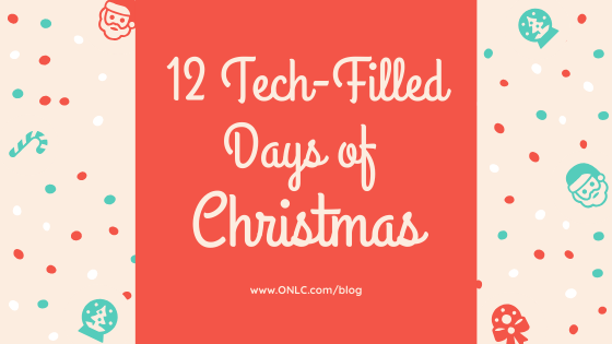 12 Tech-Filled Days of Christmas